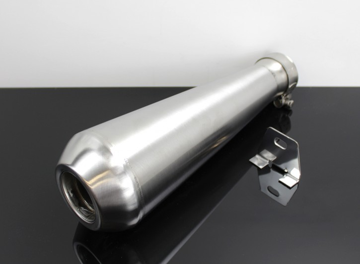 Megaphone SILENCER STAINLESS STEEL incl. dB-killer