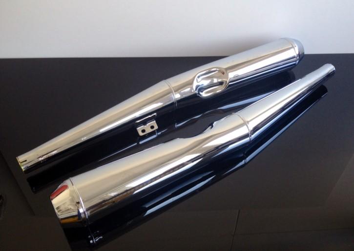 2* AUSPUFF/Auspuffset BMW 2-Ventiler R60/6/7, R75/6/7, R80/7, R100/7 & R100