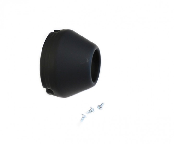 END CAP replacement for Megaphone exhaust, black