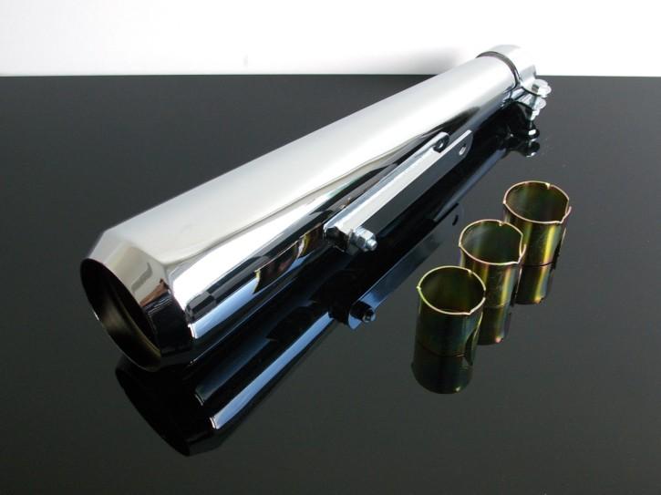 Manx-AUSPUFF/ SCHALLDÄMPFER / muffler / SILENCER / exhaust Norton, BSA, Triumph, Enfield