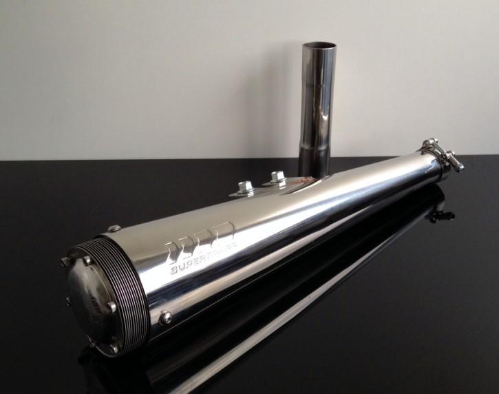 Auspuff SUPERTRAPP Exhaust f. YAMAHA SR (400) 500 SR500