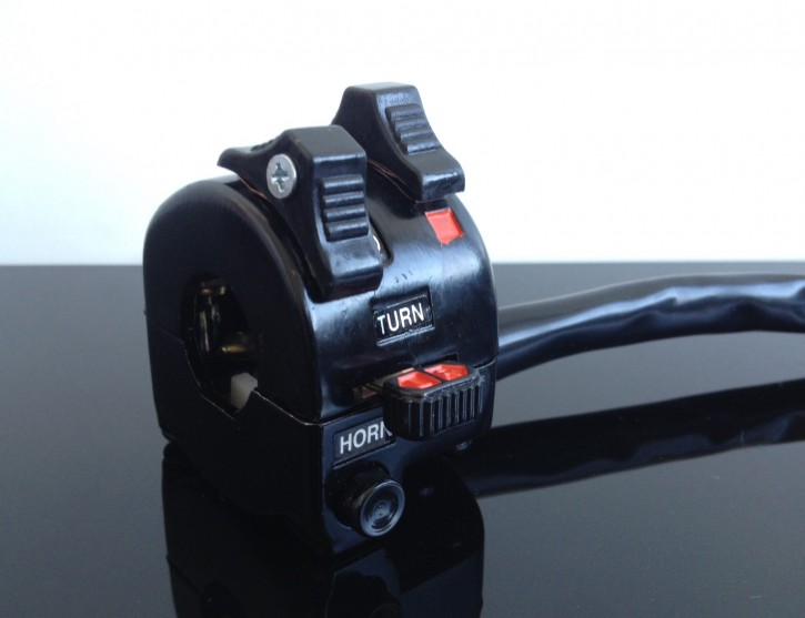 Handlebar CONTROLS, Yamaha-style, alloy black