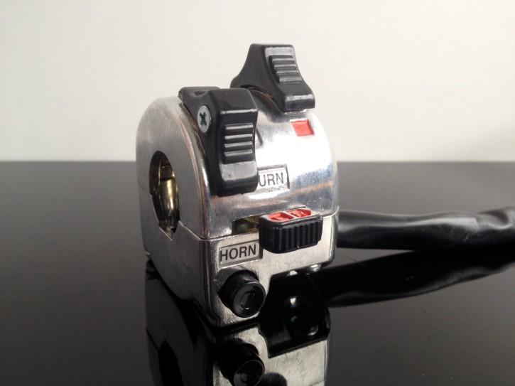 Handlebar CONTROLS, Yamaha-style, alloy