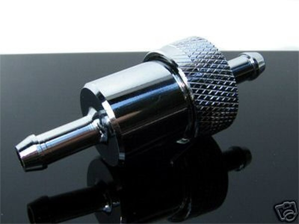 Alu-BENZINFILTER (fuel-filter/FILTRE/filtro) Aluminium 6mm