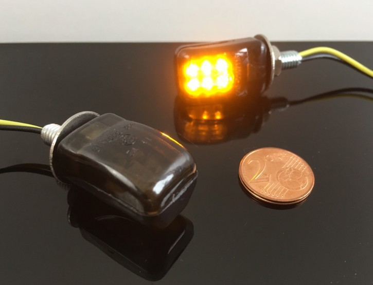 Mini LED indicator – black