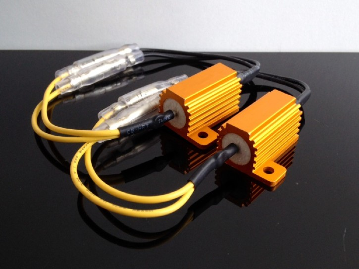 RESISTOR for LED-indicators, pair