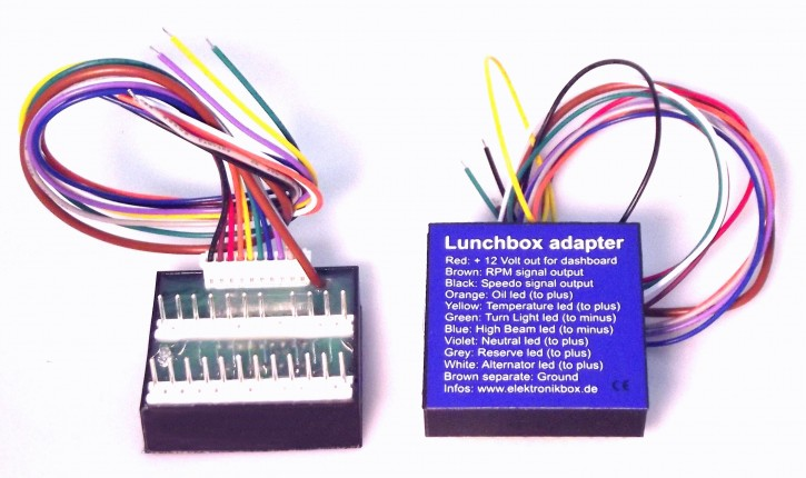 "BMW ""Lunchbox"" speedo / tacho adapter electronicbox by Axel Joost"
