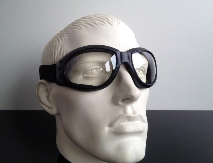 """""""Bandito"""" Helmet-GOGGLES, (clear lenses)"""