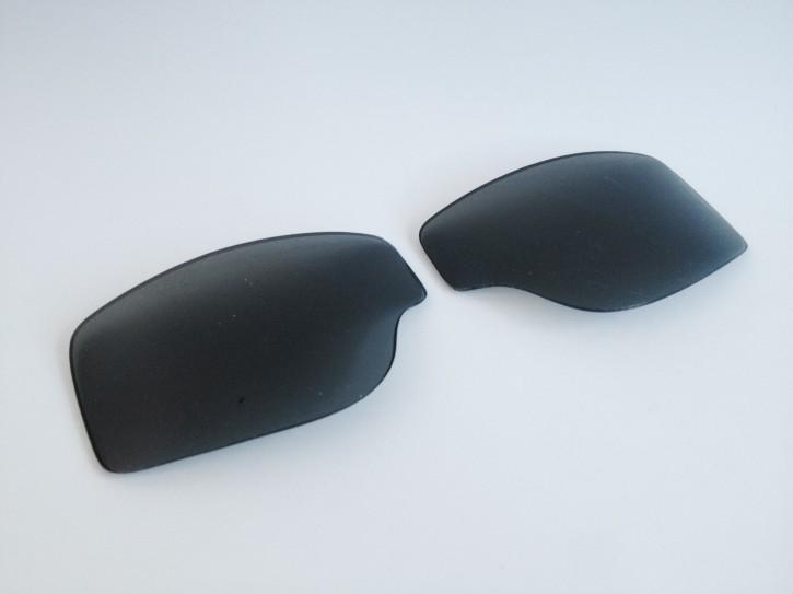 ERSATZGLÄSER f. T2/AVIATOR-Motorradbrillen: Rauch / Getönt