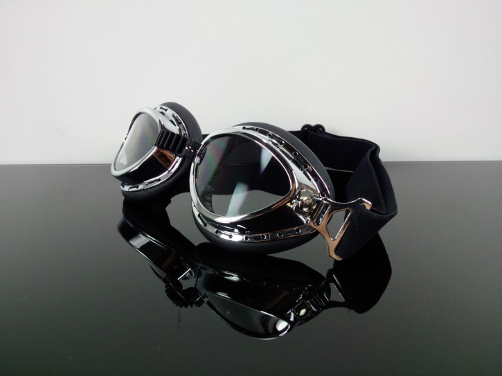 """Vintage"" MOTORRADBRILLE Motorrad-Brille f. JETHELM"