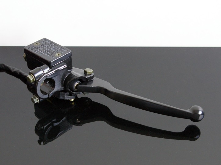 """Handbremszylinder 1/2"""" inkl. Alu-Bremshebel, f. SR500+universal!"""