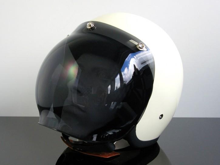 Bubblevisor/Windschild für Jethelm/HELM (Jet HELMET/Casque du jet), schwarz