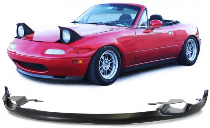FRONT SPOILER / Airdam, with air inlets, f. MAZDA MX-5 NA, 1989-'98