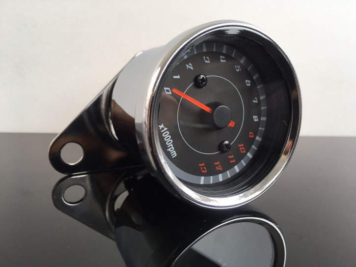 Speedo, REV-Counter 60mm, up to 13.000 RPM