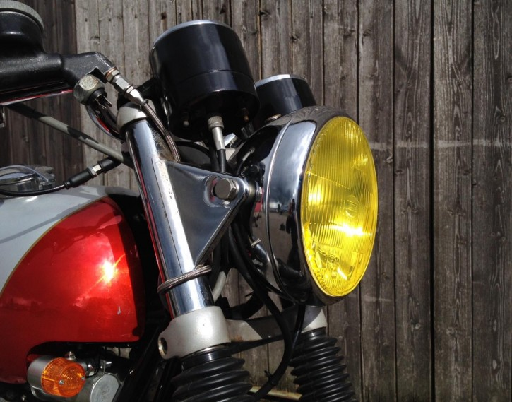 Yellow HEADLIGHT FOIL