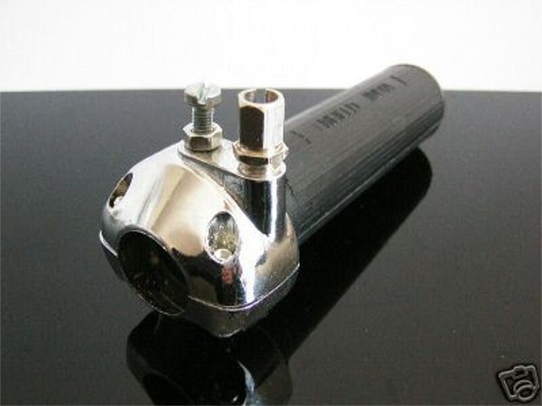 Throttle control / twist grip, like AMAL, f. 1 inch bars