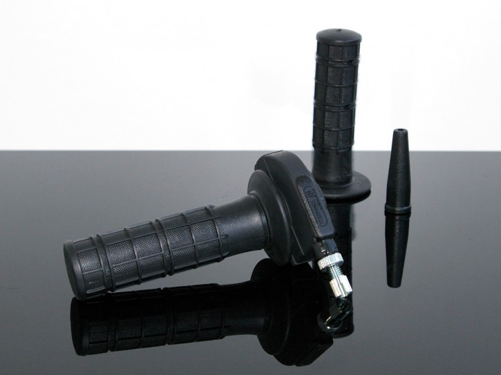 GASGRIFF Gasdrehgriff TOMMASELLI Enduro XT/XL/XR/TT 500, schwarz