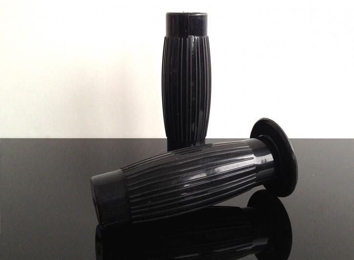 2 rubber GRIPS, Beston-style, KICKSTARTER edition, black
