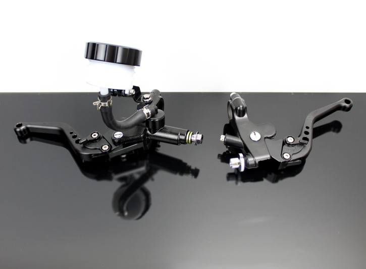 Clutch Lever Bracket and Brake Master Cylinder with adjustable Levers