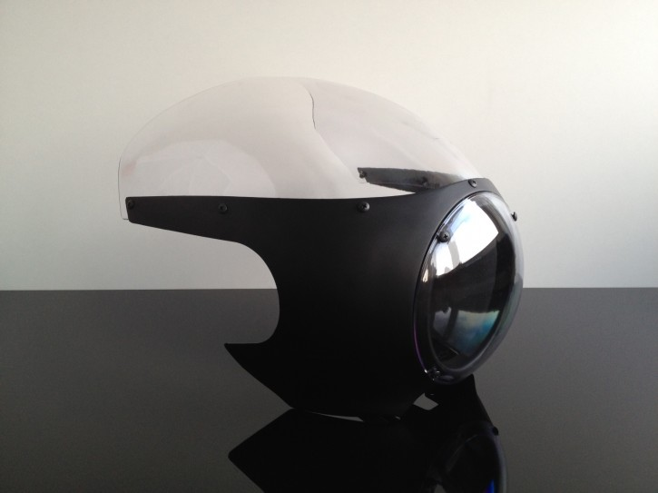 "AVON style half fairing including screen and ""bubble"""