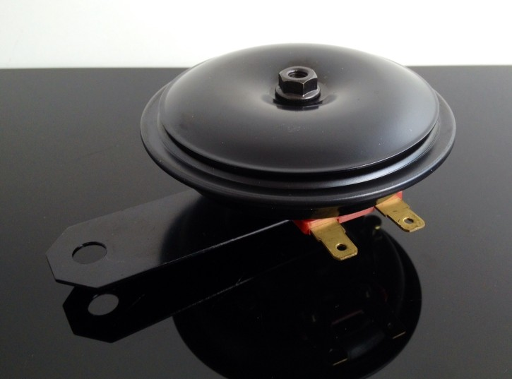 Oldstyle HORN, 12V, black