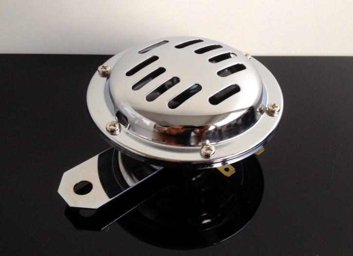 Oldstyle HORN, 12 V, chrome plated