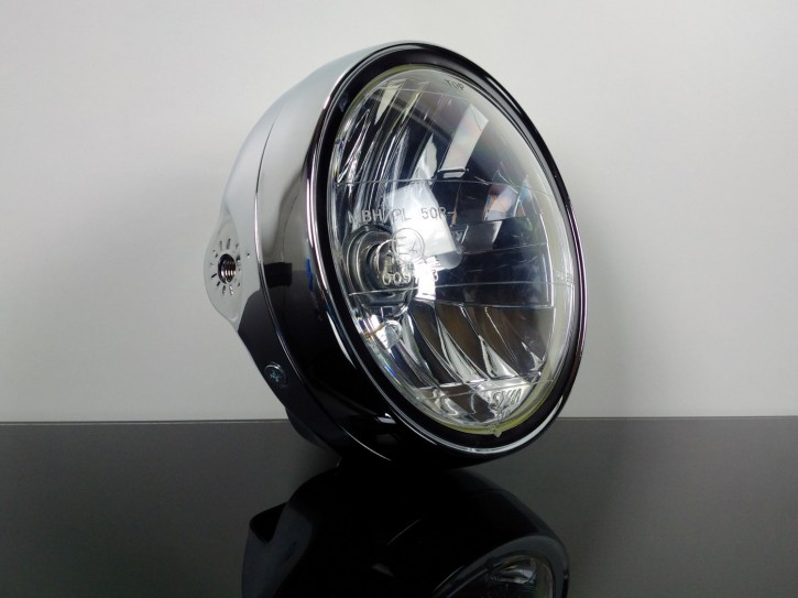 Classic HEADLIGHT / headlamp with clear screen