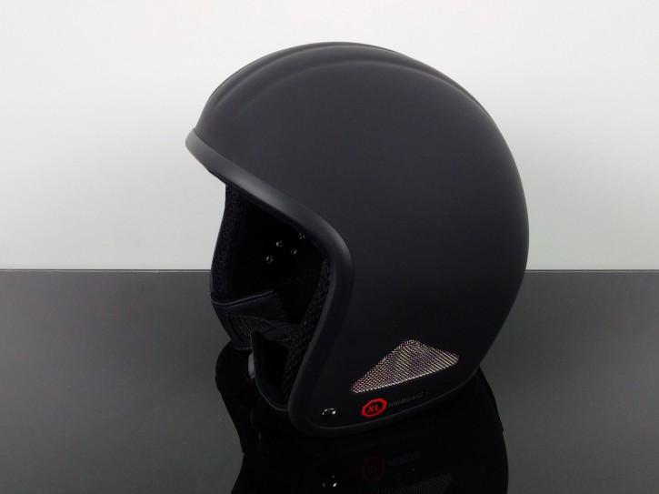 Helm JETHELM Classic, schwarz, Größe XL