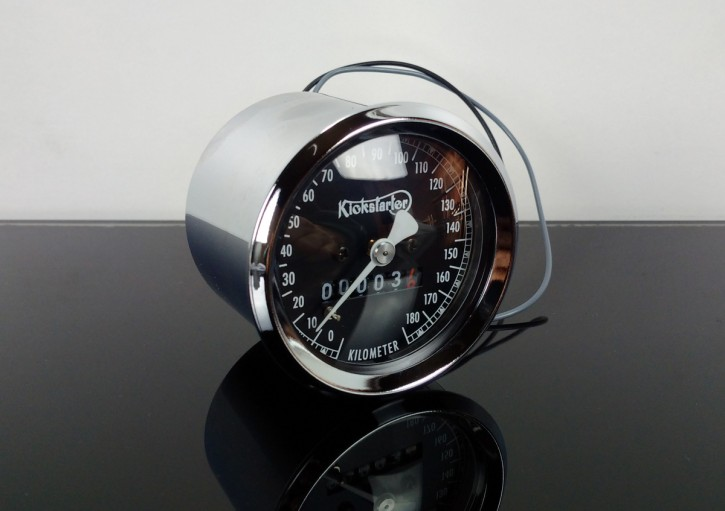 TACHO Tachometer, KICKSTARTER-Edition SMITH-Style, 60mm, K=1,4