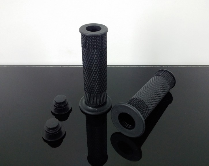 Rubber grip set, RACER-style black
