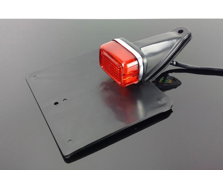 RÜCKLICHT tail light  ENDURO, Cross, SCRAMBLER, UNIVERSAL, m.TÜV