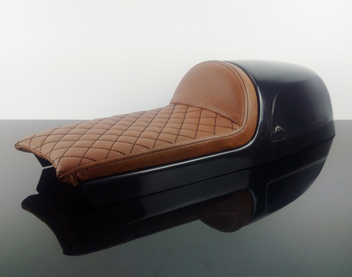 Cafe-Racer-Soloseat, Imola-Style, brown