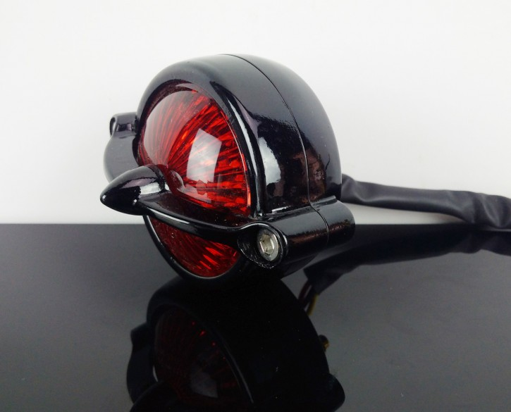 TAIL LIGHT, homologated, black