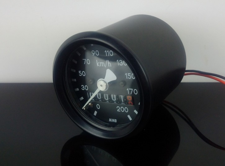 Small motorcycle SPEEDO 48mm, k=1,4 f. japanese motorcycles