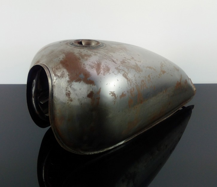 Universal FUEL-TANK for Scrambler, Steel unpainted