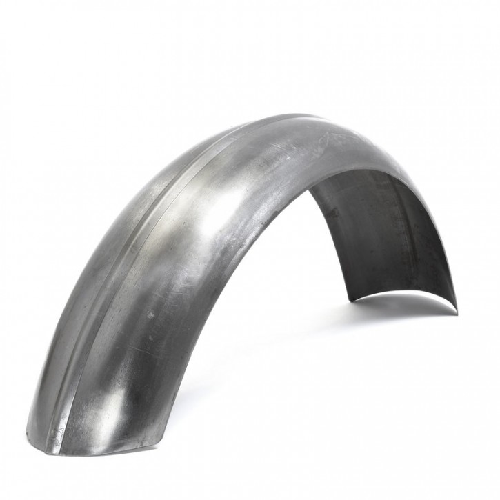 "REAR FENDER, ribbed steel, mudguard, f. 18""-19"" tyres"