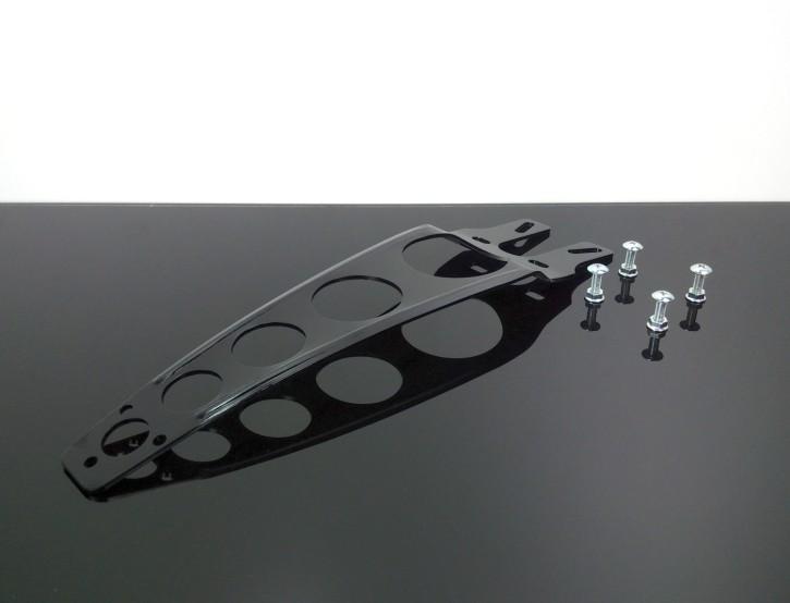 KOTFLÜGELSTREBE aus Aluminium, schwarz, Cross / Enduro