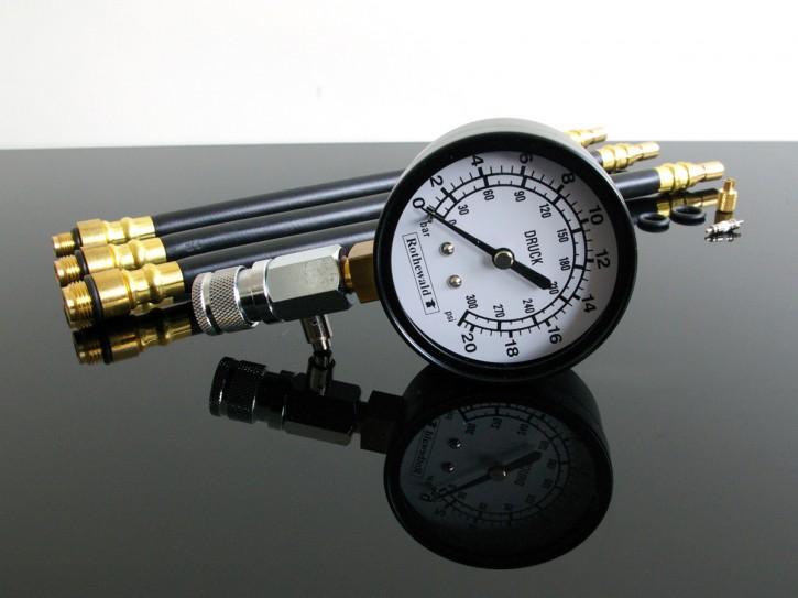 Motoren-KOMPRESSIONSTESTER/ Kompressionsmesser 10/12/14mm
