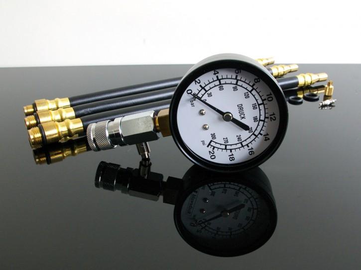 Motoren-KOMPRESSIONSTESTER / Kompressionsmesser 10/12/14mm