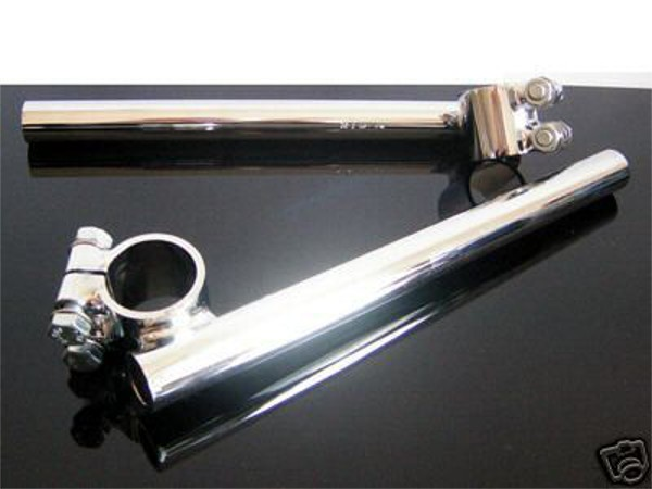 2nd Quality: Clip-ons / Cafe handlebars, FEHLING 35mm for 22mm (7/8 inch) handlebars
