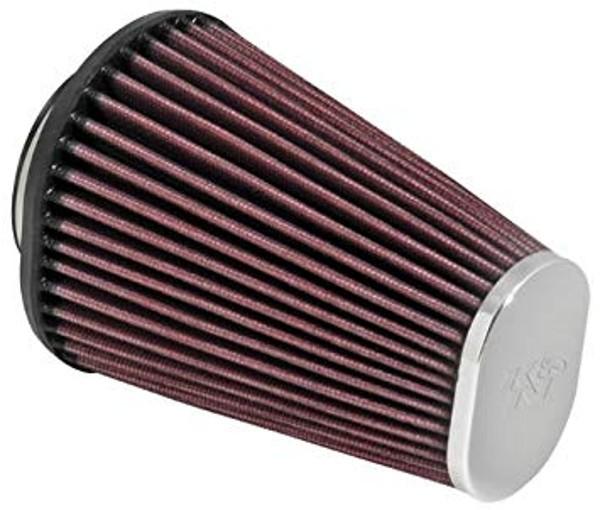 Ovaler K&N Sportluftfilter, konisch, 60-64 mm