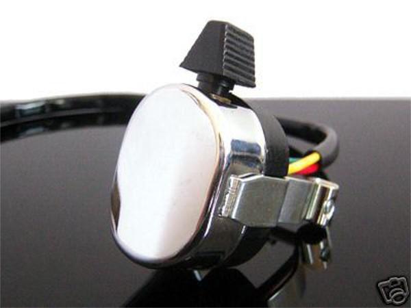 LENKERSCHALTER Schalter/handlebar switch BLINKER chrom
