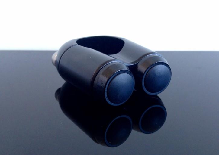 Doppel LENKERSCHALTER Schalter/Taster Blinker schwarz
