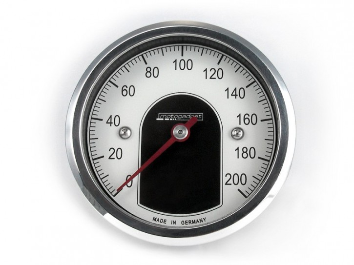 Speedo MOTOGADGET motoscope TINY, polished bezel