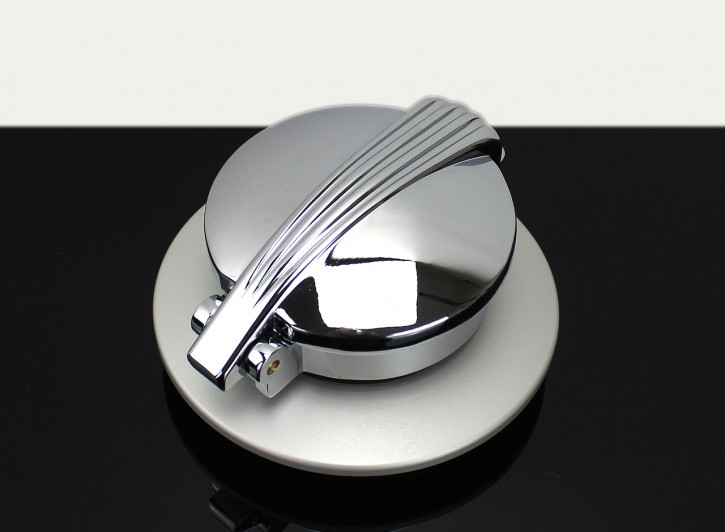 MONZA FUEL CAP chrome/silver for BMW RnineT 2014-2018