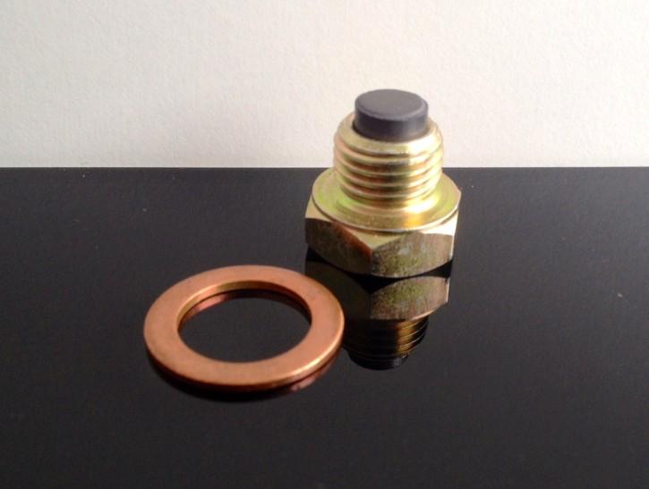 ÖLABLASSSCHRAUBE m. Magnet f. Yamaha SR/XT/TT 400/500, XT550, XT600 u.v.a.