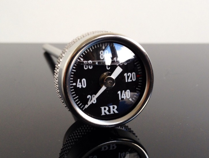 """RR""-Oil temp. gauge for Yamaha SR500 / SR 500, SR400 / SR 400, XT500 / XT 500"