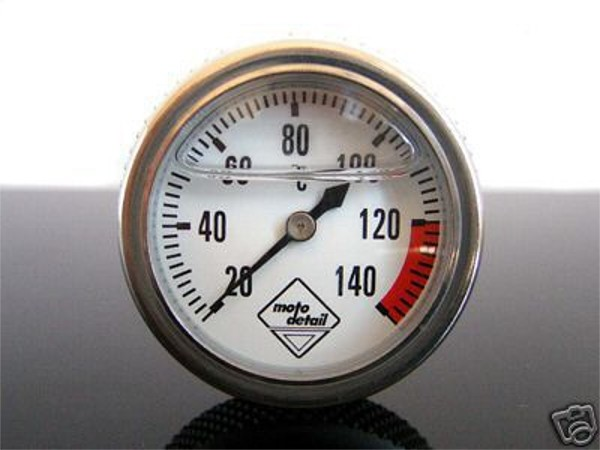 Oil temperature gauge DR350, Moto Guzzi LE MANS 2, 3, 4, 5, V