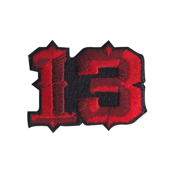 """13"" Aufnäher"