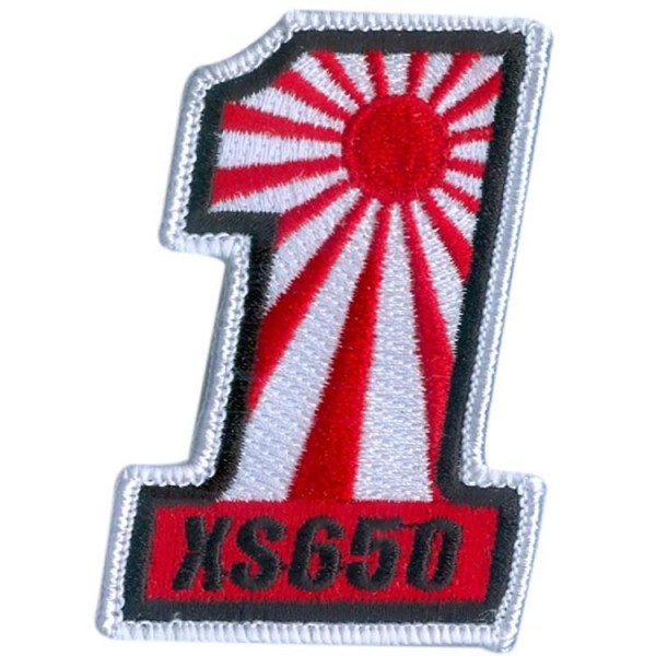 """#1 XS650"" PATCH/Aufnäher"